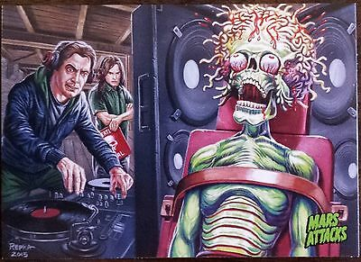 2015 Topps MARS ATTACKS OCCUPATION Base Card #41 Kickstarter Exclusive!