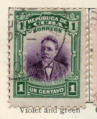 Spanish Caribbean 1910 Early Issue Fine Used 1c. 113687