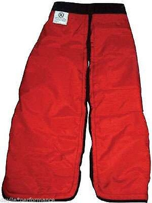"""Chainsaw Chaps Trousers Protective safety Pants New Medium 36"""" & Large 40"""""""