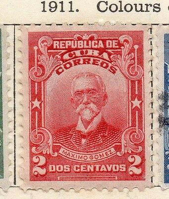 Spanish Caribbean 1911 Early Issue Fine Mint Hinged 2c. 113695