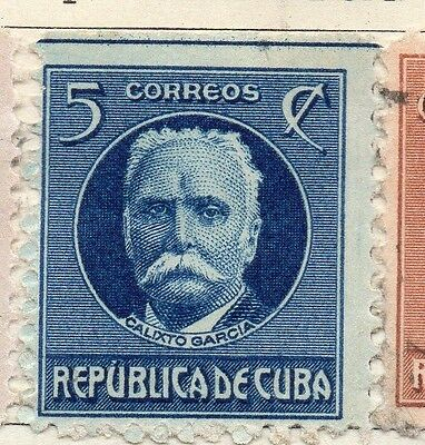 Spanish Caribbean 1917 Early Issue Fine Mint Hinged 5c. 113711