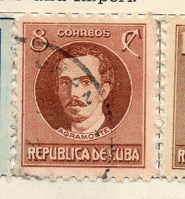 Spanish Caribbean 1917 Early Issue Fine Used 8c. 113712