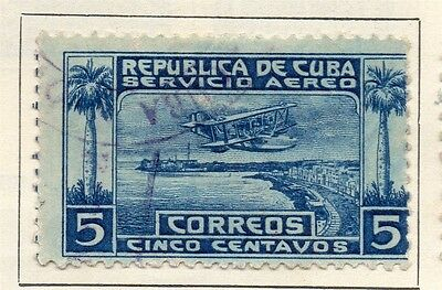 Spanish Caribbean 1927 Early Issue Fine Used 5c. 113718