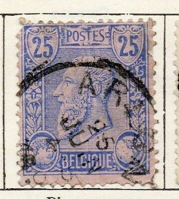 Belgium 1884 Early Issue Fine Used 25c. 115319