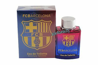 FC Barcelona By Air Val 3.4oz/100ml Edt Spray For Men New In Box