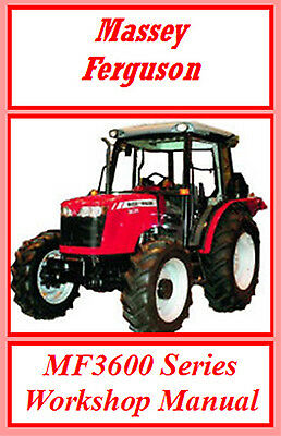 MASSEY FERGUSON 3610 3630 3650 up to 3690 WORKSHOP SERVICE REPAIR MANUAL ON CD