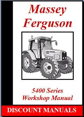 Massey Ferguson 5425-5435-5445-5455-5465-5470 Workshop Service Repair Manual Cd