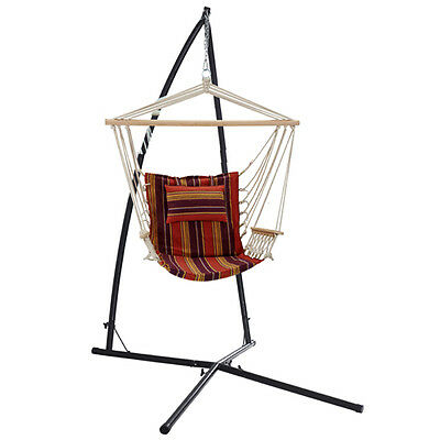 Oztrail Hammock Chair + Frame Stand Set Swing