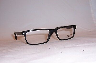 NEW Ray Ban EYEGLASSES RB RX 5277 RB5277 BLACK RX5277 2000 54mm AUTHENTIC