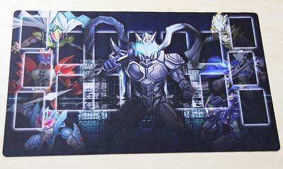 C1598 FREE MAT BAG Custom Yugioh Elemental Hero Trading Card Game Playmat TCG