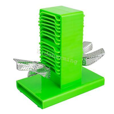 1pc Dental lab Impression stable Tray Plaster Holder Stand Double sides new