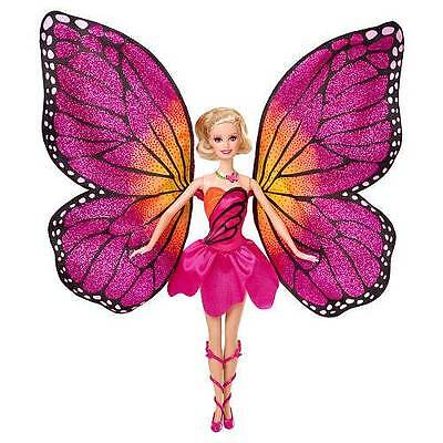 """Barbie Mariposa & The Fairy Princess 12"""" Doll NEW with Wings and Dress"""