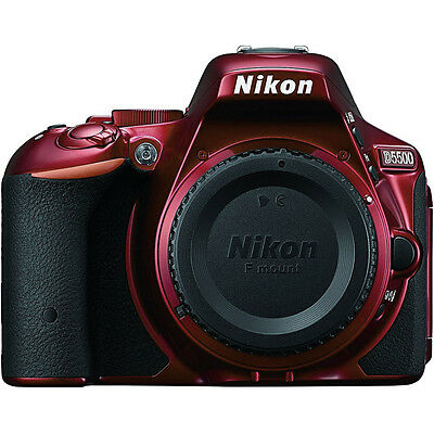 Nikon D5500 Red DX-format Digital SLR Camera Body