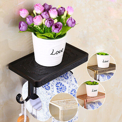 Wall Mounted Bathroom Accessory Toilet Paper Holder 6 Color Chosse