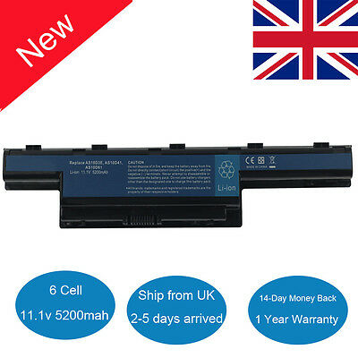 Laptop Battery for Acer Aspire 5336 5349 5742G 5750G AS10D73 AS10D75 AS10D81 UK