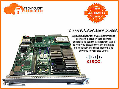 Cisco WS-SVC-NAM-2-250S Network Analysis Module