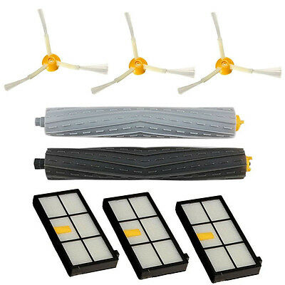 Side Brush Filter Extractor Replacement Kit For irobot Roomba 800 Series 870 880