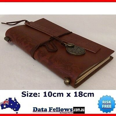 Journal Travel Diary Girls Notebook Leather Cover vintage cahier hot stationery