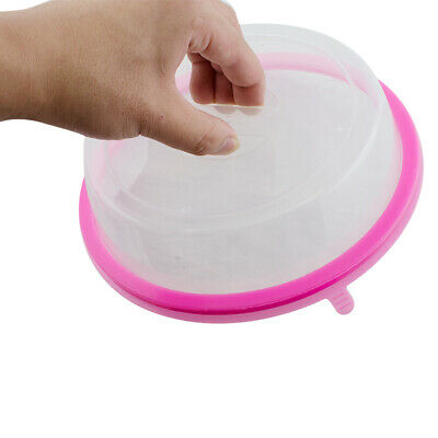 NEW Plate Topper Universal Leftover Lid Microwave Cover Airtight Plate TopperHOT