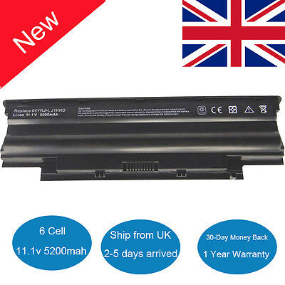 Laptop Battery J1KND fr Dell Inspiron N4110 N4010D N5030 N5040 N5050 M5010 M5030