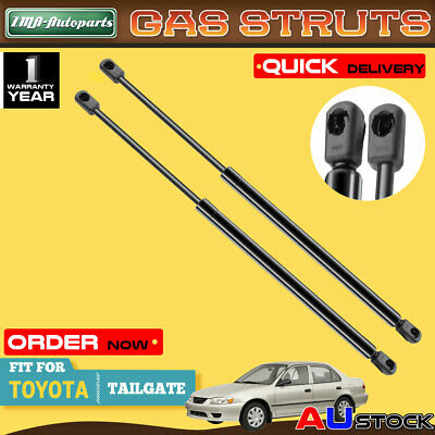 New Pair Tailgate Gas Strut for Toyota Corolla Hatchback 2002-2007 NZE120 ZZE120