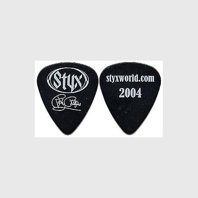 Styx Ricky Philips authentic 2004 tour Guitar Pick