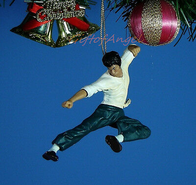 Decoration Ornament Home Party Christmas Decor Bruce Lee Chinese Kung Fu *BL2