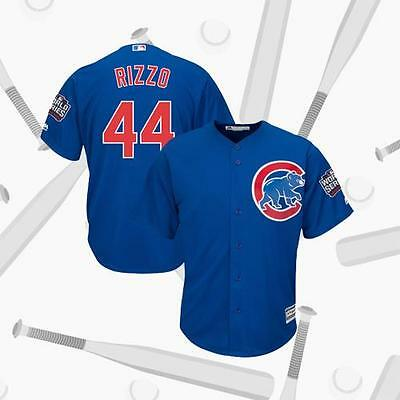 Anthony Rizzo Chicago Cubs #44 World Series Bound Flexbase Jersey Blue 2016