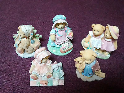 5 Cherished Teddies Collection Charlie Faith Mary Mary Quite Contrary Irene Fay