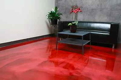 100g Red Pearl Metallic Pigment for Epoxy and 4Kg Ultra Clear Epoxy Resin