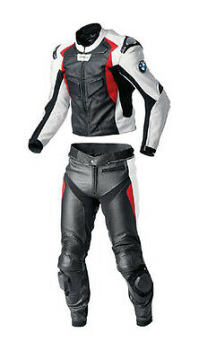 Bmw Motorbike Leather Suit Motogp Racing Mens Motorcycle Leather Jacket Trouser