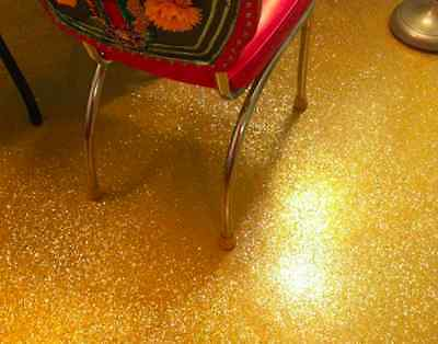100g Glitter Yellow Metallic Pigment for Epoxy and 4Kg Ultra Clear Epoxy Resin