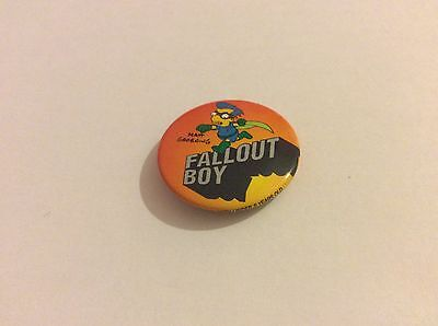 The Simpsons Millhouse as Fallout Boy  25mm Button Badge