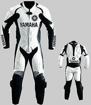 Yamaha Motorcycle Leather Suit Moto Gp Men Motorbike Leather Jacket Trouser