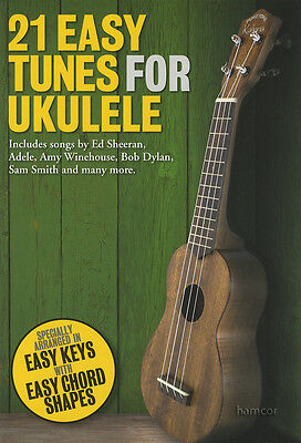 21 Easy Tunes for Ukulele Chord Melody Songbook ABBA Adele Beatles Coldplay