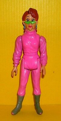 The real Ghostbusters Janine Melnitz Actionfigur Fright Features Kenner 1987