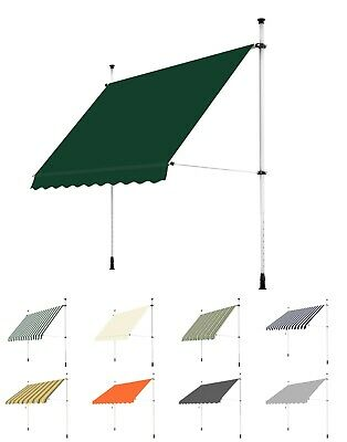 Primrose Balcony Manual Awning Outdoor Sun Shade Canopy Patio Garden Shelter