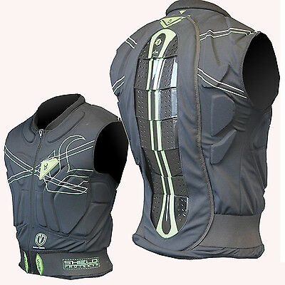 DEMON Shield Vest - Snowboard Top - Protection for Upper Body Torso, Spin