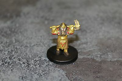 Gold Dwarf Female Cleric 47 of 51 Dungeons & Dragons Miniatures Pathfinder D&D