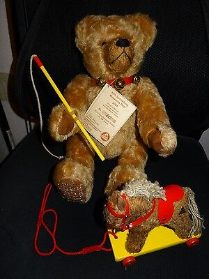 HERMANN SPIELWAREN..12th Sonneberg Museum Bear 2005...LIMITED EDITION