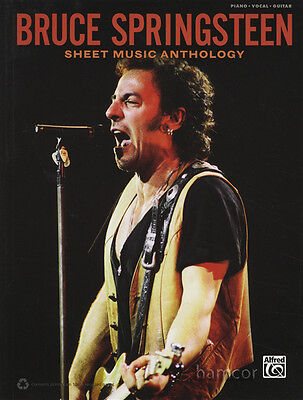 Bruce Springsteen Sheet Music Anthology Piano Vocal Guitar Music Book