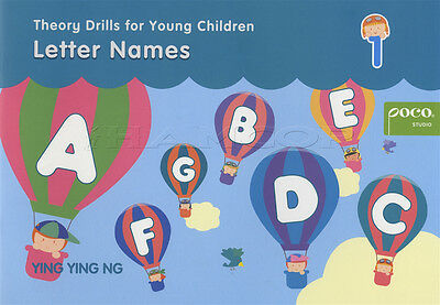 Theory Drills for Young Children 1 Letter Names Music Book Poco Studio Ying Ng