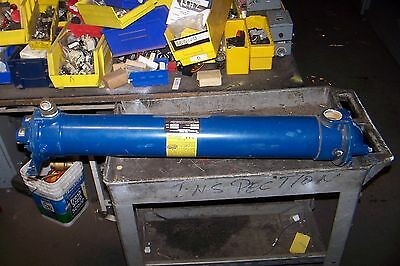 "American Industrial 1-1/2"" Copper Shell & Tube Heat Exchanger Ab-1004-5132"