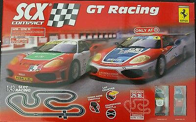 SCX 1:43 Slot Car Set Ferrari NEW IN BOX (NIB)