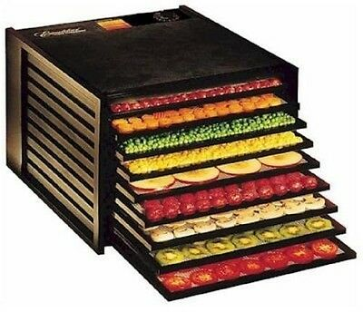 EXCALIBUR FOOD DEHYDRATOR 9-Tray 15 Square Ft. of Drying Space Easy Healthy Food