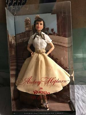 Audrey Hepburn in Roman Holiday Barbie Doll 2013 Pink Label