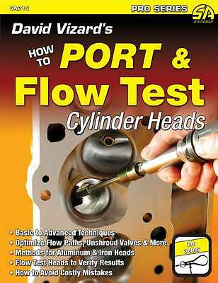 S-A Books David Vizard'S How To Port And Flow Test Cylinder Heads Part 215