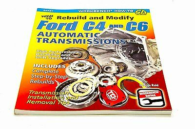 S-A Books How To Rebuild And Modify Ford C4 And C6 Automatic Part Number 227