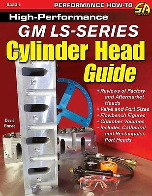 S-A Books High-Performance Gm Ls-Series Cylinder Head Guide Part Number 231
