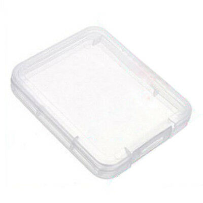 10pcs Plastic Cards Card Box Case SD SDHC XD MMC CF storage Case Transparent CP